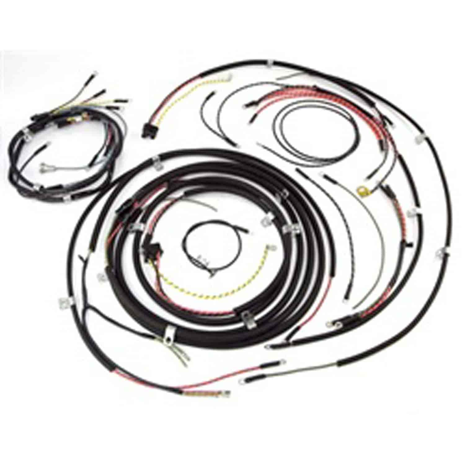 rugged ridge 17201 05  complete wiring harness without