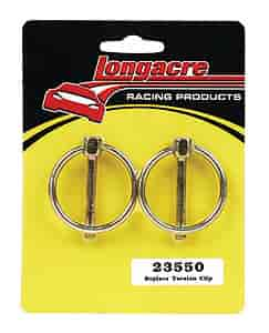 Longacre Racing 23550 - Longacre Racing Products Hood Pins