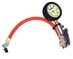 Longacre Racing 50428 - Longacre Racing Products Tire Inflator with Gauge