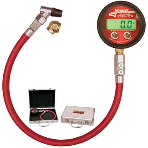 Longacre Racing 53010: Digital Tire Pressure Gauge 0-25 psi   JEGS