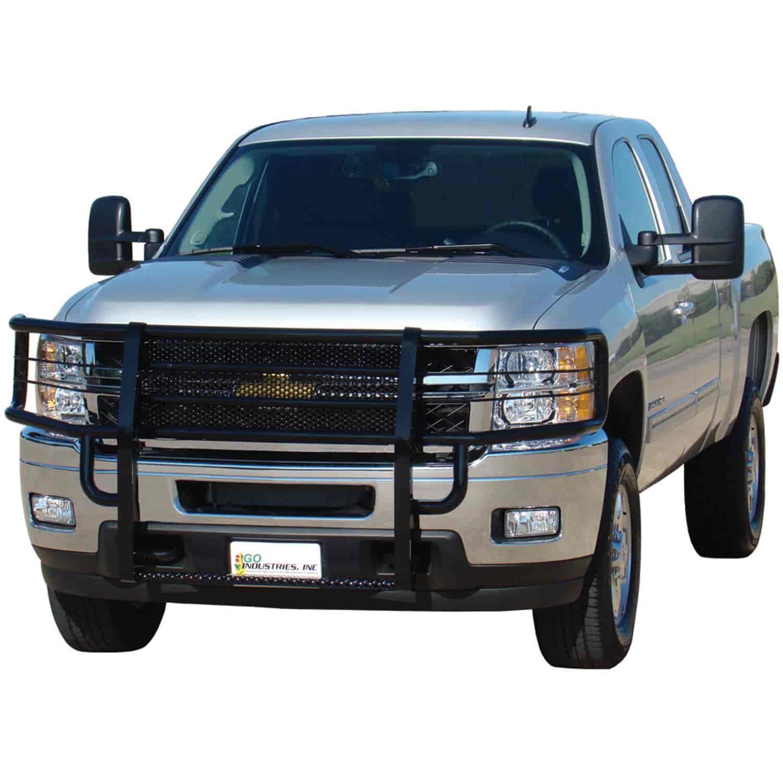 Go Industries 46751 Black Rancher Grille Guard For 2011 2014 Chevy 2015 Silverado 2500hd 2500 3500
