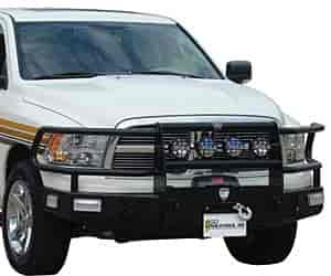 Go Industries 59666W - Go Industries Bumper Replacement With Grille Guard