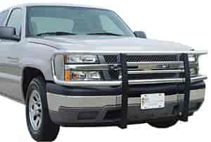 Go Industries 77735 - Go Industries Big Tex Chrome Grille Guards