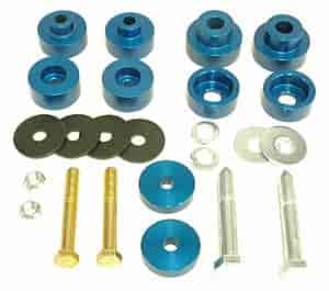 Global West 816 - Global West Interloc Body Mount Bushings