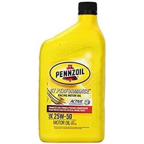Glockner Oil 2703623 Pennzoil Motor Oil 25w 50 Jegs