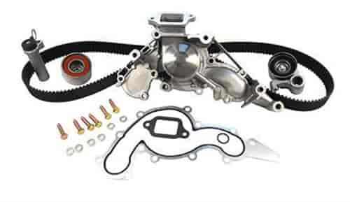 gates tckwp190 timing belt component kit with water pump 1990