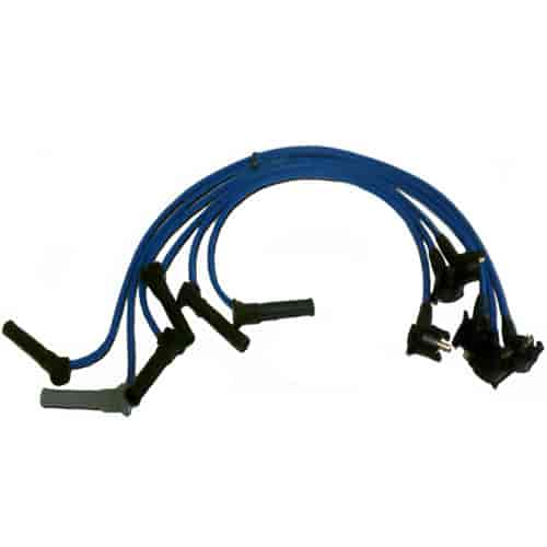 Granatelli Spark Plug Wires 2001-04 Mustang 3.8L V6 on switch wire, timing belt, ignition timing, ignition system, oil pump, transformer wire, capacitor wire, usb wire, exhaust system, spark gap, heater wire, fuel filter, thermostat wire, terminal wire, light wire, resistor wire, ballast wire, cage wire, engine control unit, air filter, electronic control unit, fuel pump, electric motor wire, lock wire, capacitor discharge ignition, starter wire, overhead camshaft, fuel injection, ignition coil, screw wire, retainer wire, fuse wire,