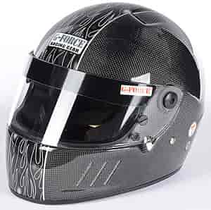 G-FORCE 3028SMLBK - G-FORCE SA2010 Carbon Fiber Shell Helmet