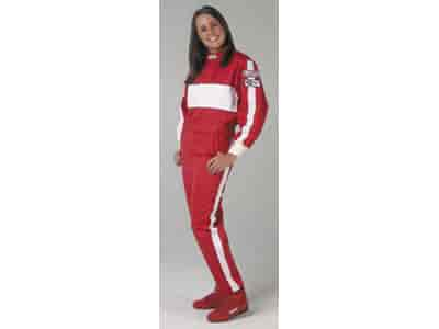 G-FORCE 4372CSMRD - G-FORCE GF105 Single-Layer Junior One-Piece Driving Suit
