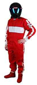 G-FORCE 4372XXXRD - G-FORCE SFI-1 GF105 Single-Layer One-Piece Driving Suit