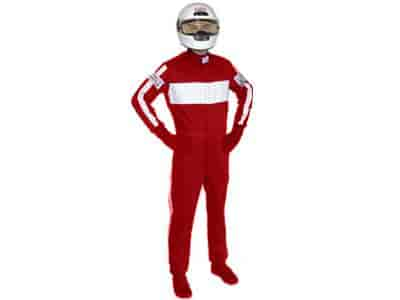 G-FORCE 4380SMLRD - G-FORCE SFI-5 GF505 Triple-Layer One-Piece Driving Suit