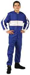 G-FORCE 4381CMDBU - G-FORCE SFI-1 GF105 Single-Layer Junior Driving Jacket & Pants