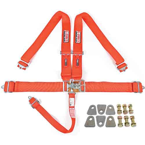 G-FORCE 6000RD1: Pro-Series Latch & Link 5-Point Individual Harness