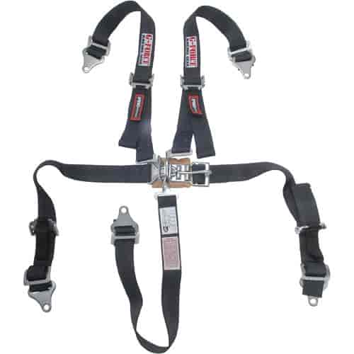 G-FORCE 6460BK - G-FORCE Jr. Racer Pro Series Latch & Link Harness