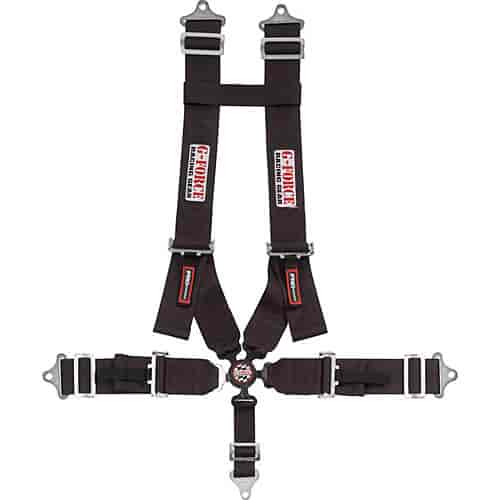 G-FORCE 7030BK - G-FORCE Pro Series Camlock Harnesses