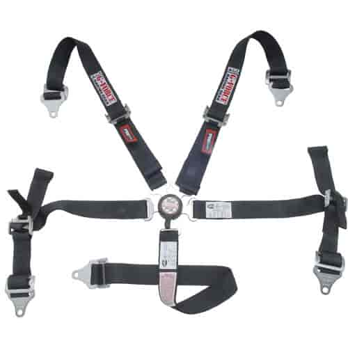 G-FORCE 7460BK - G-FORCE Jr. Racer Pro Series Camlock Harness