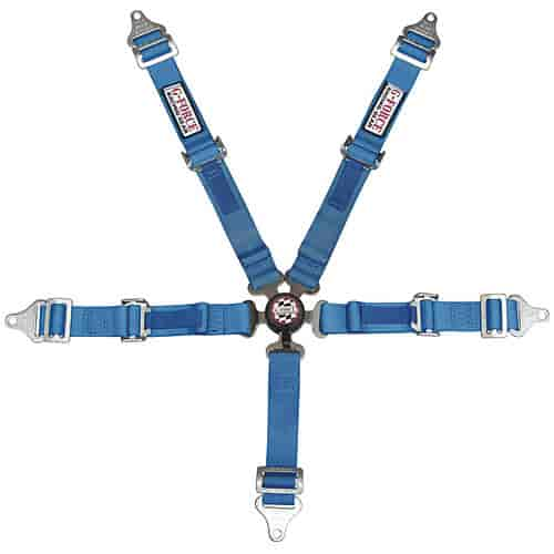 G-FORCE 7460BU - G-FORCE Jr. Racer Pro Series Camlock Harness