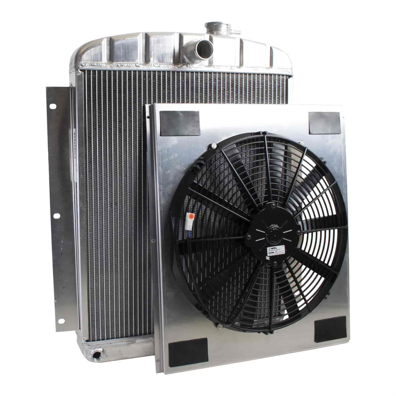 Griffin Radiators Cu 00056 Exactfit Radiator Combounit For 1948 Fuel Filters