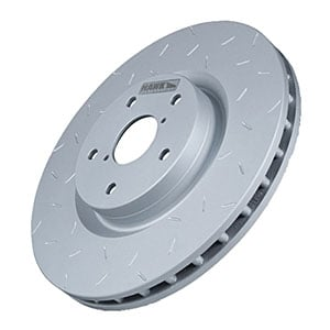 Hawk HUS740 - Hawk Performance Quiet Slot Rotors