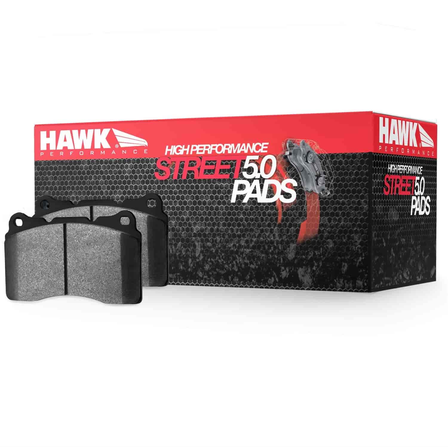 Hawk Performance HB650B.730 Disc Brake Pad HPS 5.0 w//0.730 Thickness Disc...