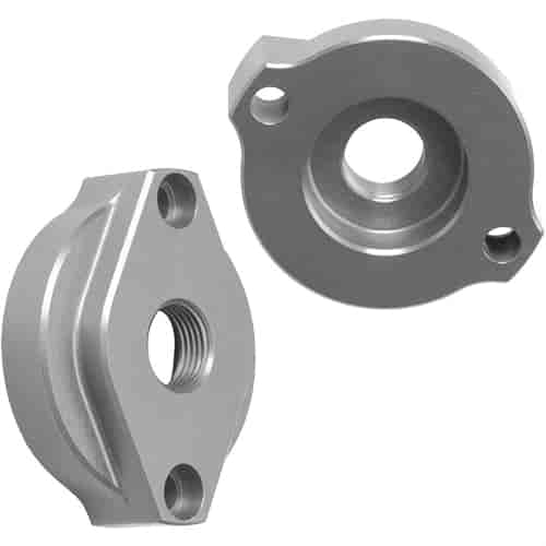 Hamburger's 3326 - Hamburger's Billet Aluminum Oil Filter Adapters