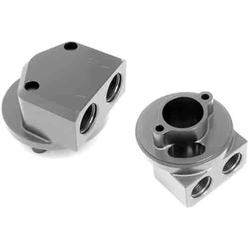 Hamburger's 3328 - Hamburger's Billet Aluminum Oil Filter Adapters