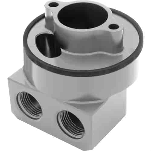 Hamburger's 3329 - Hamburger's Billet Aluminum Oil Filter Adapters