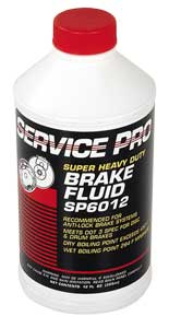 Glockner Oil SP6012 - Service Pro Dot-3 Brake Fluid