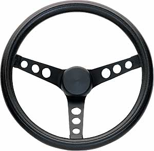 Grant 338 Black Foam Grip Steering Wheel 13 3 4 Diameter