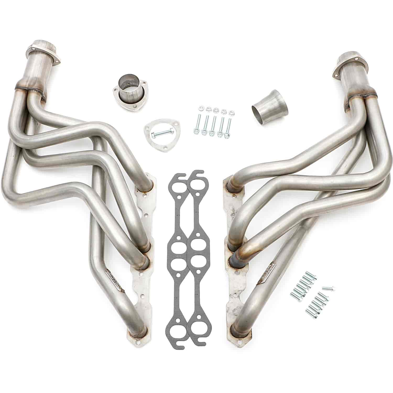 Hedman 62270 Stainless Steel Long Tube Headers 1968 79 Chevy Ii Nova 283 400 Jegs