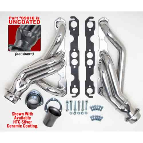 Hedman Standard Duty Uncoated Mid-Length Headers for 1967-for 1987  Chevy/GMC C10/C20 PICKUP w/SBC