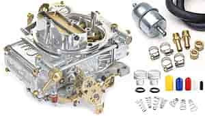 Holley 0-1850SAK2 - Holley 600 cfm Aluminum Street Carburetors