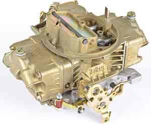 Holley 750 cfm 4-Barrel Carburetor Gold finish
