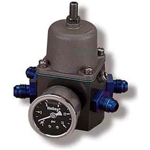 Holley 12-707 - Holley 4-Port Fuel Pressure Regulator