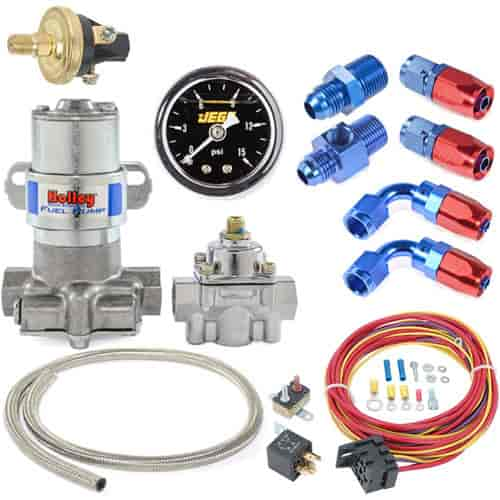 Holley Electric Remanufactured Fuel Pump  for Pressure  9 to 15 PSI