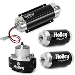Holley 12-890K2 - Holley HP In-Line Billet Fuel Pumps