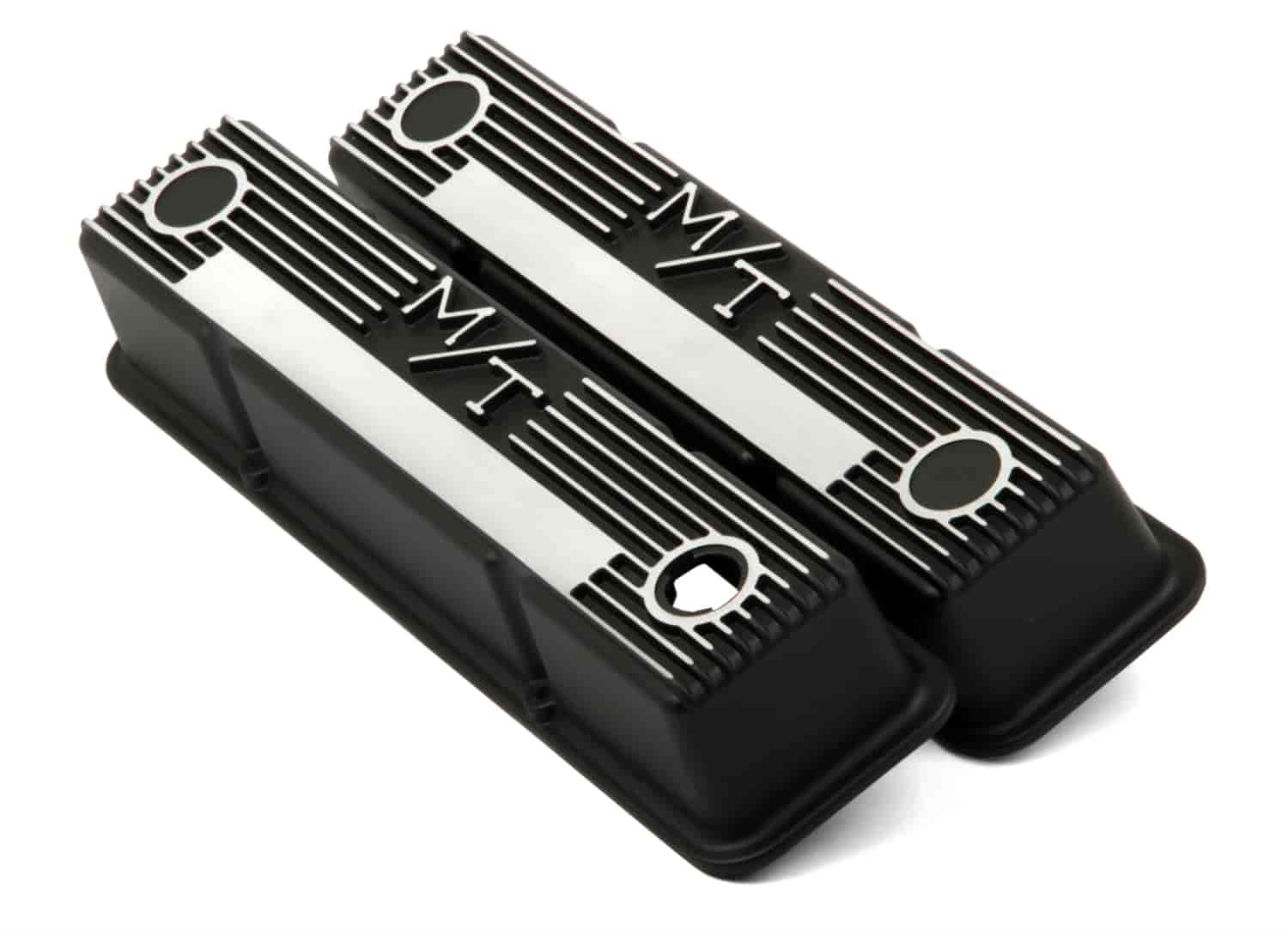 Holley 241-83 - Holley M/T Finned Aluminum Valve Covers
