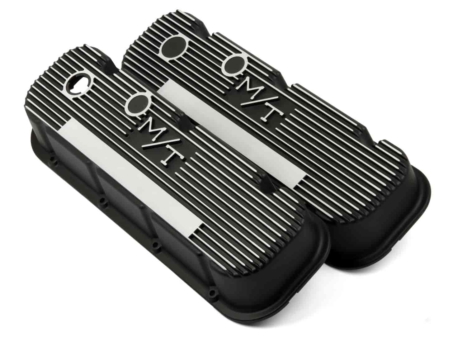 Holley 241-85 - Holley M/T Finned Aluminum Valve Covers