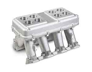 Holley 300-112 - Holley LS Modular High-Ram Intake Manifolds - Carbureted