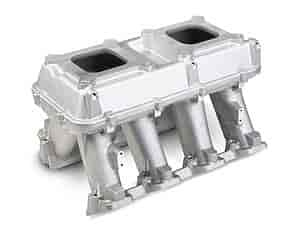 Holley 300-113 - Holley LS Modular High-Ram Intake Manifolds - Carbureted