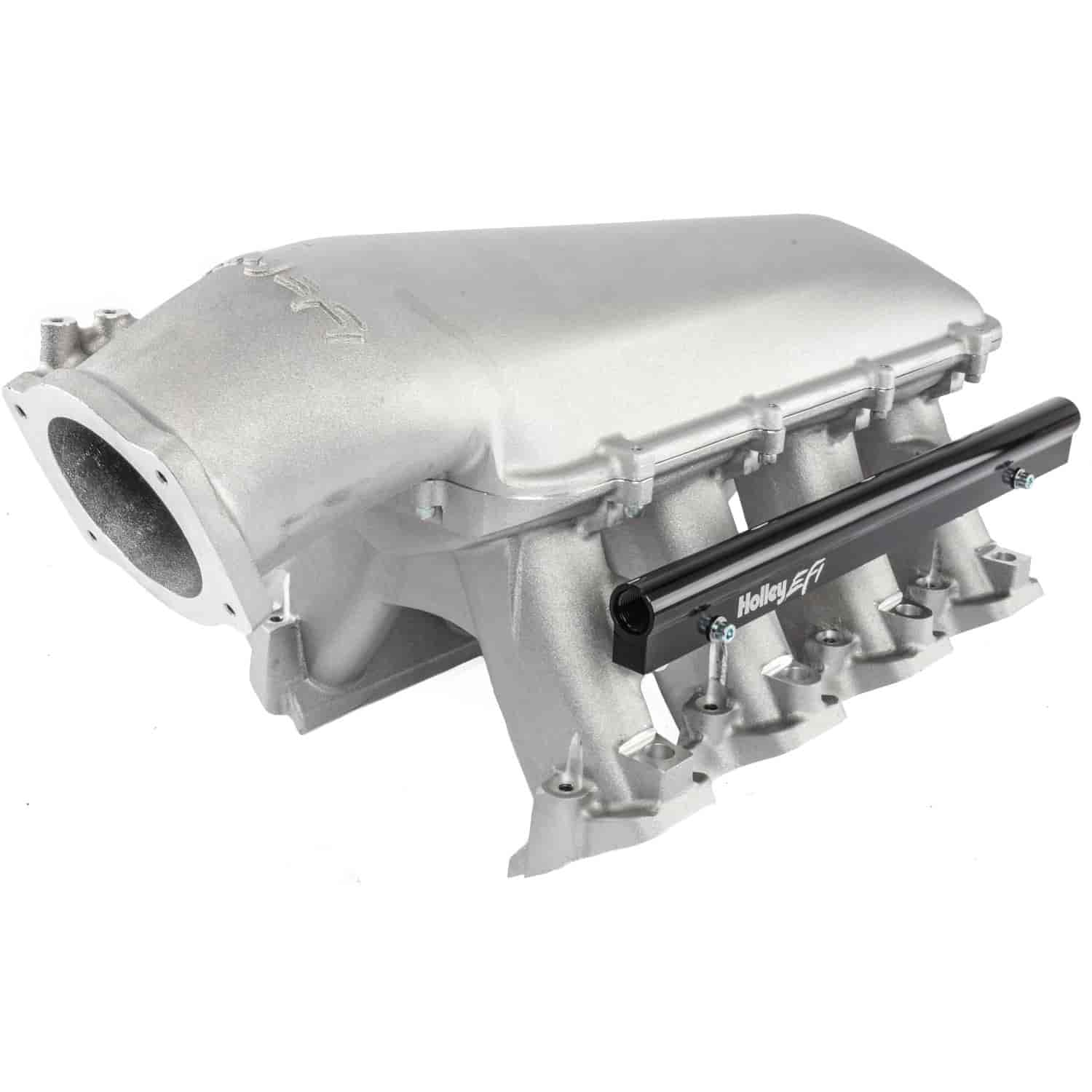 Holley 300-116 - Holley LS Modular High-Ram Intake Manifolds - EFI