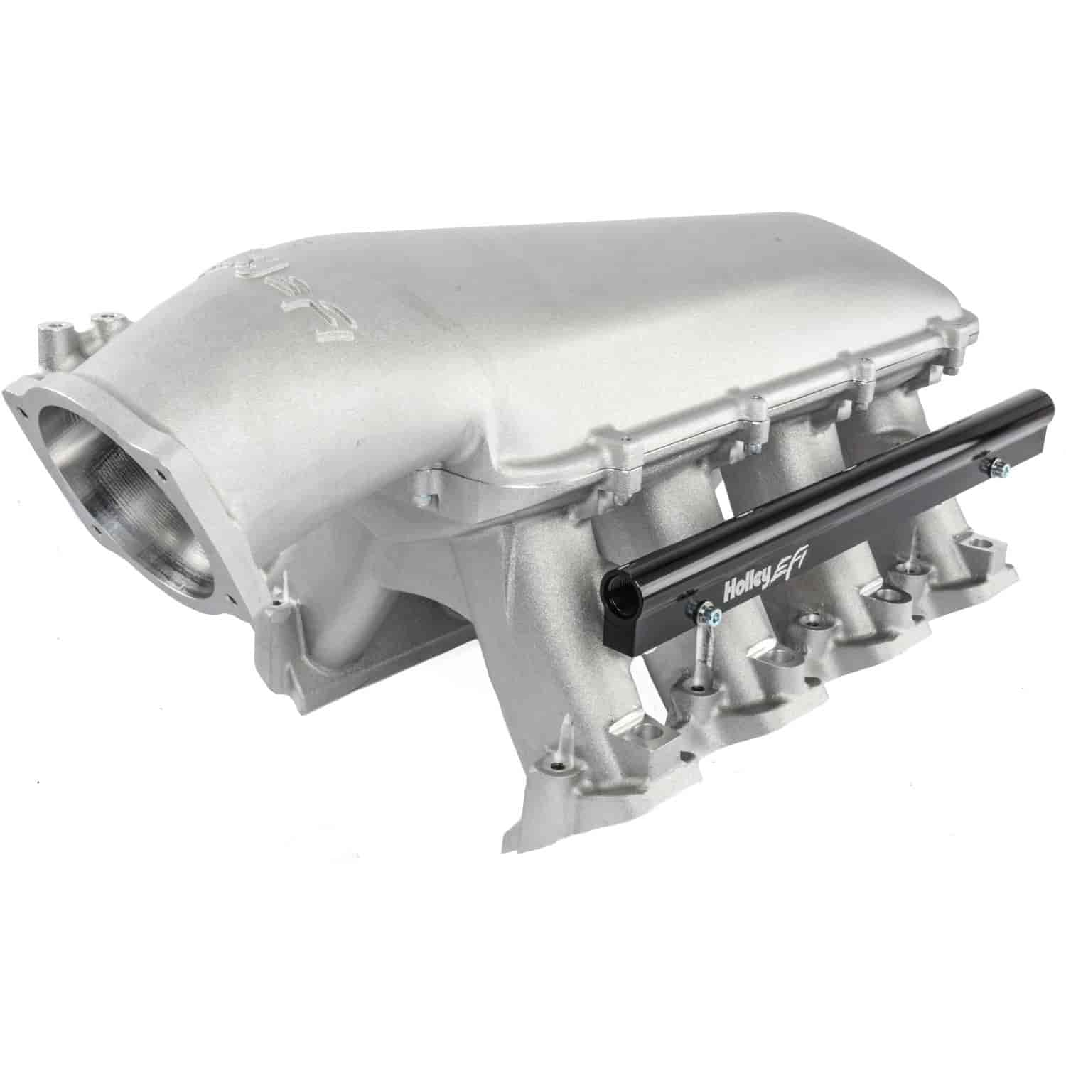 Holley 300-117 - Holley LS Modular High-Ram Intake Manifolds - EFI