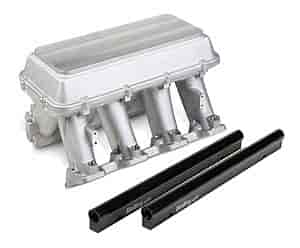 Holley 300-119 - Holley LS Modular High-Ram Intake Manifolds - EFI