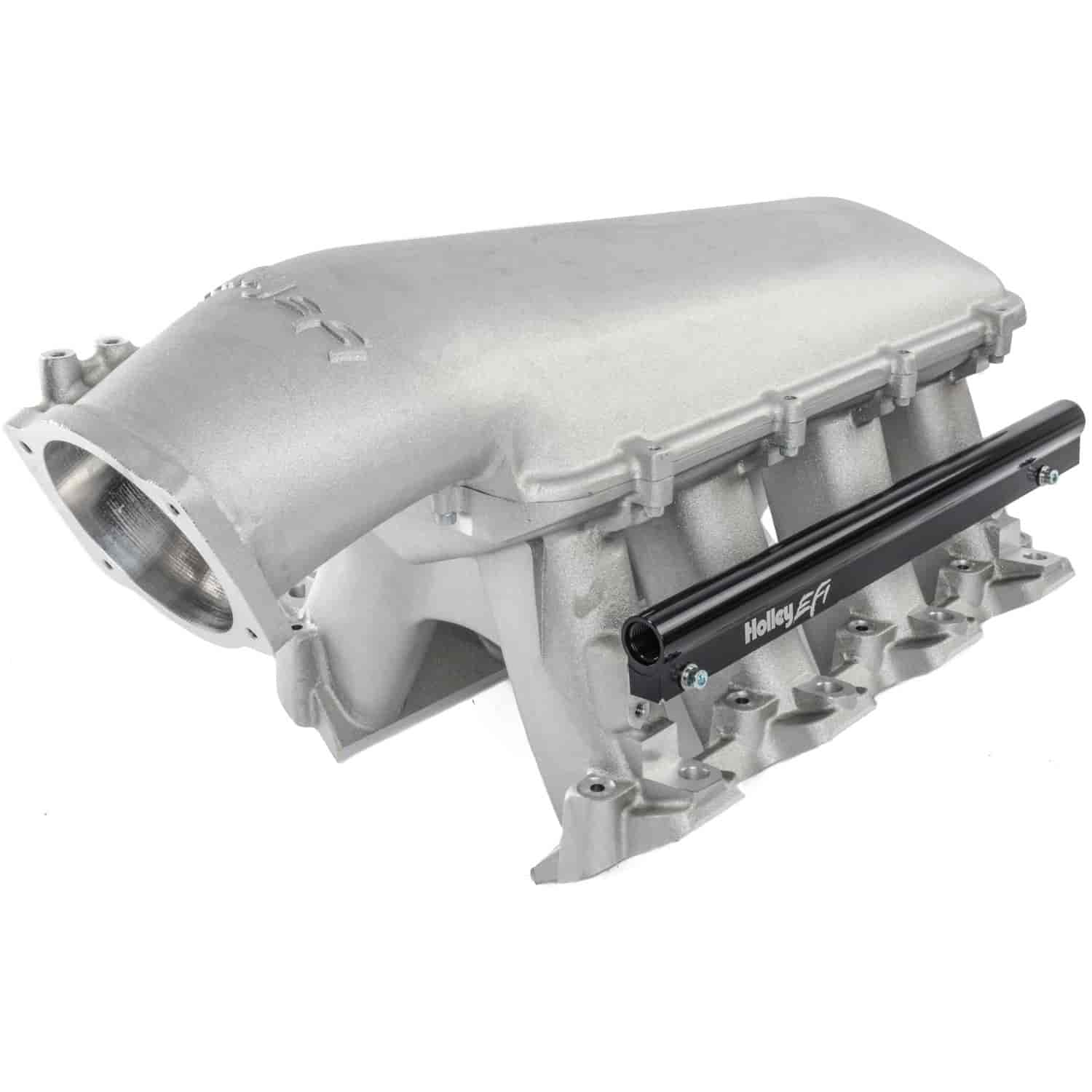 Holley 300-123 - Holley LS Modular High-Ram Intake Manifolds - EFI