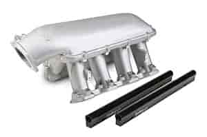 Holley 300-125 - Holley LS Modular High-Ram Intake Manifolds - EFI