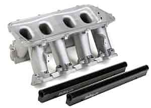Holley 300-214 - Holley LS Modular High-Ram Intake Manifolds - EFI