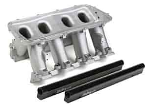 Holley 300-229 - Holley LS Modular High-Ram Intake Manifolds - EFI