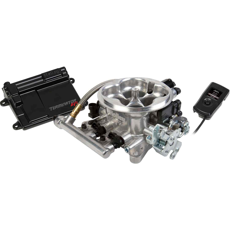 holley 550 405 terminator efi 4bbl throttle body fuel. Black Bedroom Furniture Sets. Home Design Ideas