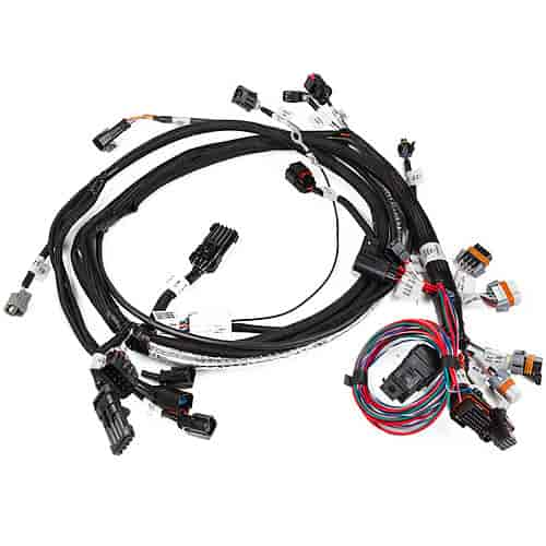 holley 558 106 main efi wiring harness early model hemi early rh jegs com 5.7 Hemi Multi Displacement Engine 5.7 HEMI MDS Problems