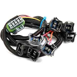 holley 558-209: dominator & hp efi injector wiring harness ford v8 on 1990